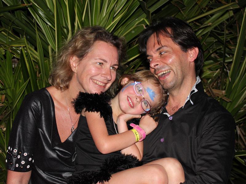 Sophie, Angelina & Benoit.